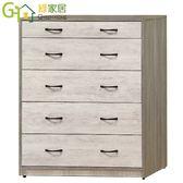 【綠家居】波蘇蒂  時尚3.2尺木紋五斗櫃/收納櫃