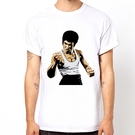 Bruce Lee-pop短袖T恤-白色...