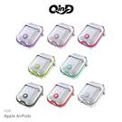 【愛瘋潮】QinD Apple AirPods 雙料保護套(有線版) TPU保護套