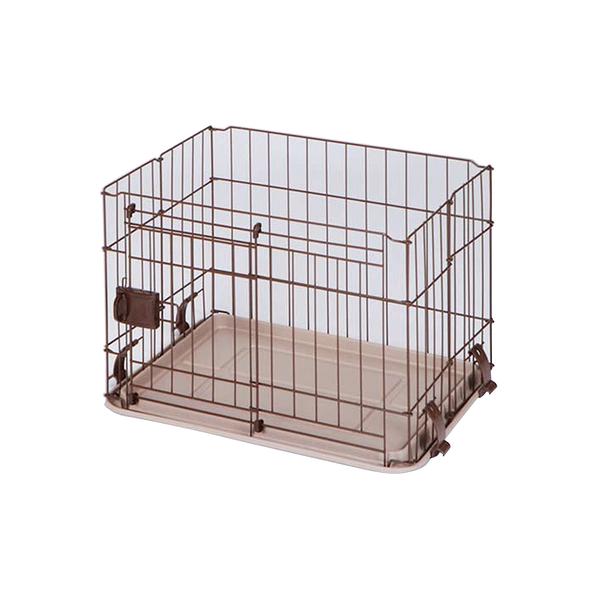 寵物家族-日本Marukan-無上蓋輕量化滑門狗屋(S) DP-457