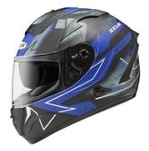 ZEUS 瑞獅安全帽,ZS-806F,II68/消光黑藍