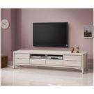【森可家居】瑪奇朵7尺電視櫃 7ZX374-5 長櫃 木紋質感 無印風 北歐風 刷白
