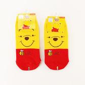 小熊維尼直版襪(15~22cm/22~26cm)【愛買】