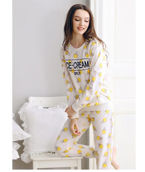 女人睡裙長袖情侶睡衣性感家居服開衫-swe002