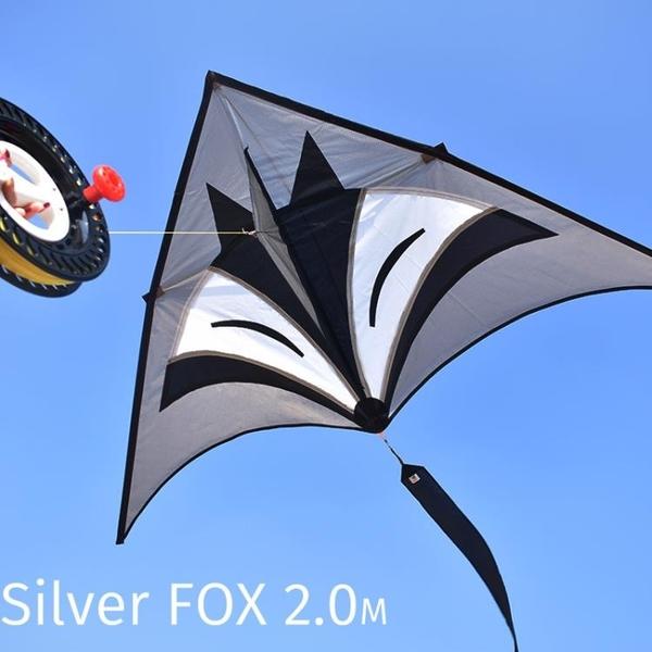 濰坊風箏 大型三角風箏 10米長尾風箏 銀狐風箏 成人風箏 初學飛ATF 格蘭小鋪