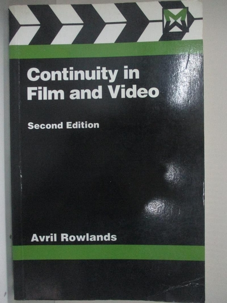 【書寶二手書T1/影視_BC8】Continuity in film and video : a handbook for directors…