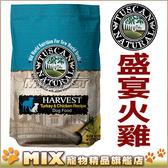 ◆MIX米克斯◆美國托斯卡Tuscan 特級盛宴犬糧-火雞肉+雞肉+蔬果【5磅】