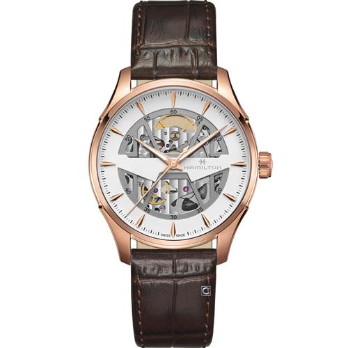 Hamilton 漢米爾頓 JAZZMASTER 爵士系列 SKELETON AUTO機械錶 H42505510