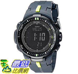 [美國直購] 手錶 Casio Mens PRW-3000-2CR Protrek Sport Watch with Black Resin Band