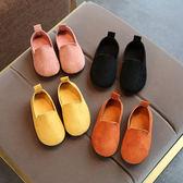 1-5歲兒童鞋子2女童奶奶鞋小皮鞋3男童豆豆鞋4軟底寶寶公主鞋單鞋 〖korea時尚記〗
