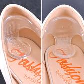 T字型矽膠止滑紓壓腳根貼(2入) 後跟貼 矽膠鞋墊 防磨腳