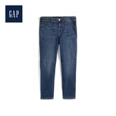 Gap女裝簡約純色五口袋牛仔長褲499908-深靛藍色