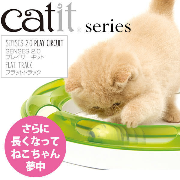 *WANG*喵星樂活 Hagen【Catit 2.0平地競速場】軌道玩具,第二代貓更愛玩