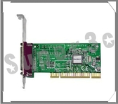 新竹【超人3C】UT500 Parallel擴充卡 ◆提供 1 組 IEEE 1284 標準並列埠(print port)• 32-bit PCI 介面
