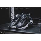 ISNEAKERS Nike M2K Tekno 老爹鞋 黑色 皮革面 AV4789-002 老爹鞋 男女鞋 黑白
