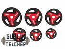 -槓鈴老師健身器材- 客製化 PU材質 手抓槓片 PLATES 155KG套裝組  重量訓練 健身器材