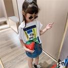 百搭時尚側背包潮兒童小包包草莓鏈條斜背包...