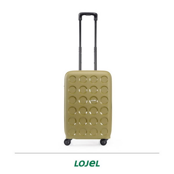 CROWN皇冠 LOJEL VITA PP材質拉鍊 登機箱/旅行箱 19.5吋-橄欖綠
