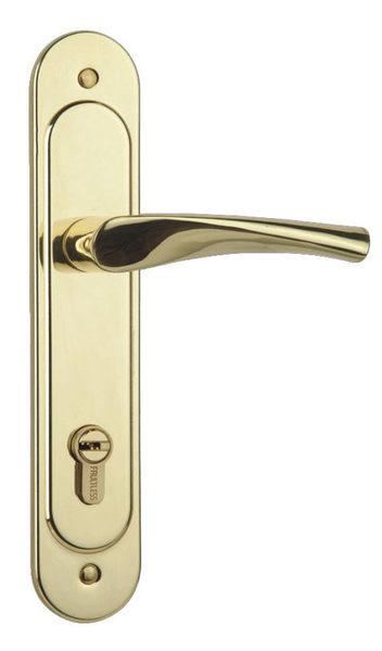 加安水平鎖 N5L7601V 嵌入式水平鎖 青銅(金色) 把手鋅合金材質 卡巴鑰匙