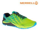 MERRELL 男 BARE ACCESS FLEX輕量赤足跑鞋ML12553 / 城市綠洲 (防臭抗菌、黃金大底、越野、透氣、避震)
