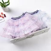 2019春季女童蛋糕裙半身裙兒童紗裙短裙寶寶蓬蓬裙女大童半身裙子