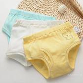 寶寶內褲1-3歲女童平角褲秋季棉質男童三角褲兒童四角褲嬰兒短褲  雙12購物節