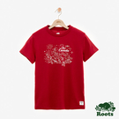 女裝ROOTS - 特色加拿大短袖T恤-紅色