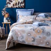 HOLA 朵漾純棉床包兩用被組 雙人