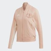 X-adidas M VRCT JACKET 運動 外套 休閒 女款 粉色 專業 訓練 魔鬼氈 EK4322