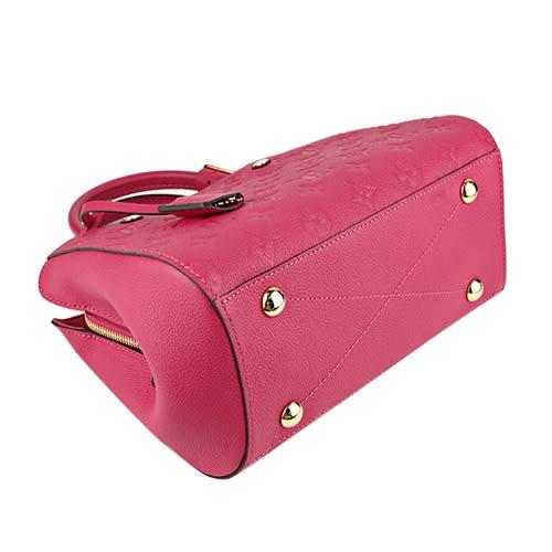 Louis Vuitton LV M54199 Montaigne BB 經典花紋全皮革兩用仕女包.小蒼蘭 全新 預購【茱麗葉精品】
