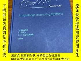 二手書博民逛書店Long罕見Range interacting SystemsY