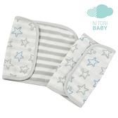 背帶口水巾 STAR BL 嬰兒用 NITORI宜得利家居