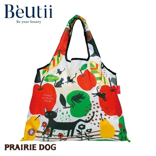日本 Prairie Dog 設計包 貓戲 日本插畫家 精心設計 方便攜帶 收納方便 雙層布料 提升耐用度