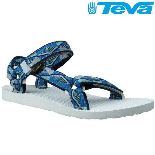 TEVA 《女款》30年經典復刻版水陸運動涼鞋Original Universal - 金字塔藍