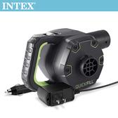 INTEX 3合1可蓄電充氣幫浦110V+12V+蓄電池(66641)