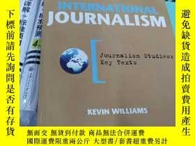 二手書博民逛書店International罕見journalism Kevin