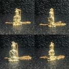 不動明王 純銅24K金電鍍屬雞本命佛守護神佛像項鏈