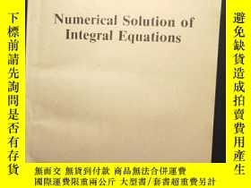 二手書博民逛書店Numerical罕見Solution of Integral