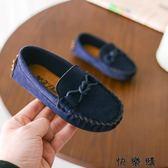 韓版兒童豆豆鞋