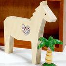 【全館5折】WaBao ZAKKA雜貨 韓國正品動物造型+愛心形水晶家居擺飾 (馬) =K00011=