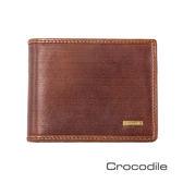 Crocodile 義大利植鞣製皮 Bravo系列 短夾0103-07103-02