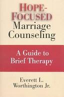二手書博民逛書店《Hope-focused Marriage Counseling: A Guide to Brief Therapy》 R2Y ISBN:0830815481