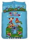 涼被 / 雙人【史迪奇-歡樂篇】台灣精製卡通涼被,戀家小舖台灣製ABE203