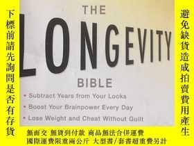 二手書博民逛書店The罕見Longevity Bible: 8 Essentia