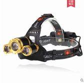 LED五頭燈強光充電式感應夜釣魚燈遠射手電筒超亮頭戴式多功能igo 西城故事