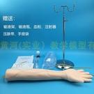 靜脈穿刺輸液及肌肉注射訓練手臂模型護士抽血練手打針抽血模具