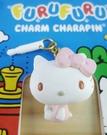 【震撼精品百貨】Hello Kitty 凱蒂貓~KITTY耳機防塵塞-粉側坐(搖身體)