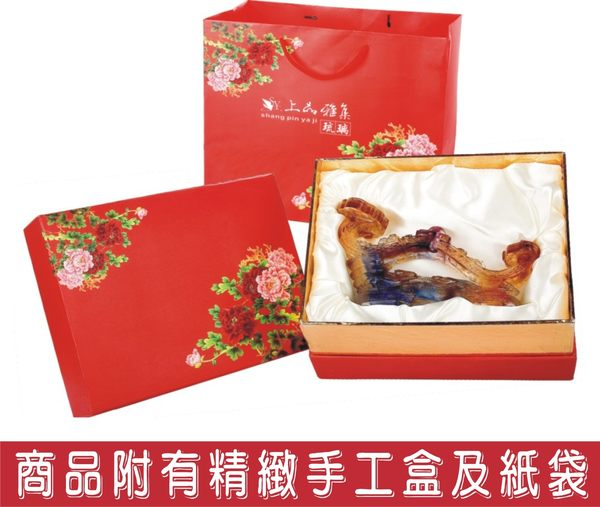 精緻彩陶鑰匙盒-鳥語花香    SY-E29