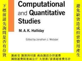 二手書博民逛書店Computational罕見And Quantitative Studies (collected Works