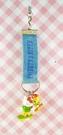 【震撼精品百貨】小黃鳥崔西_Tweety-KITTY聯名款-手機吊飾-牛仔